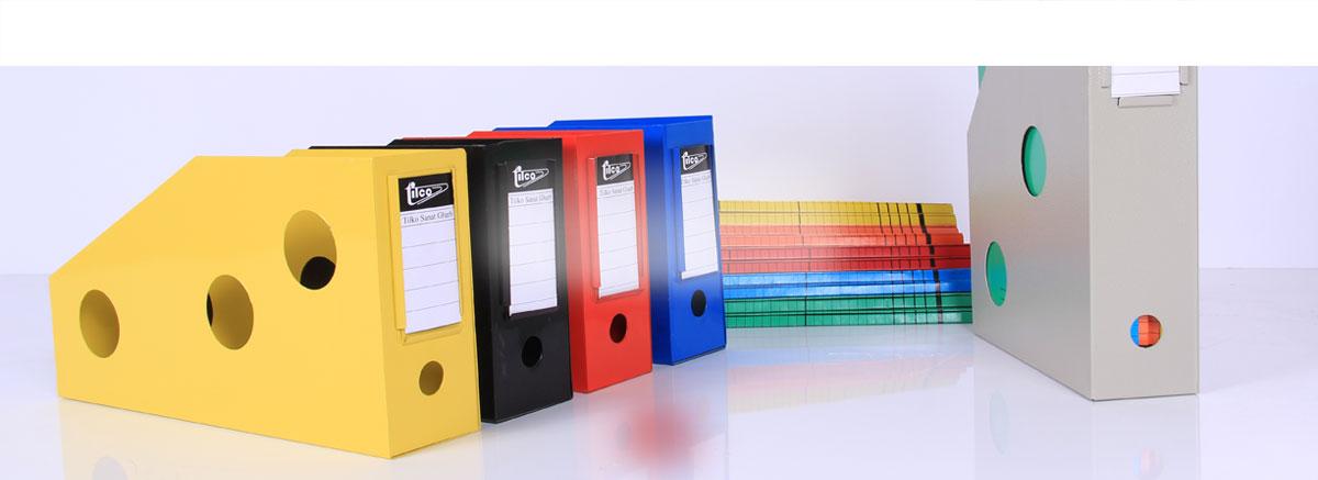 متنوع ترین تولیدکننده فایل باکس در کشور