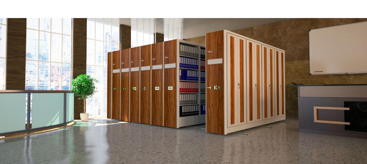تخصصی ترین تولیدکننده سیستم بایگانی ریلی برقی در کشور